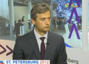 Павел Федоров на СПЭФ 2012